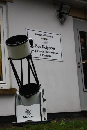 Club Telescope at Dark Sky Weekend 2015