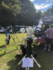 Edenbridge and District Astronomers at Chiddingstone Castle Country Fair